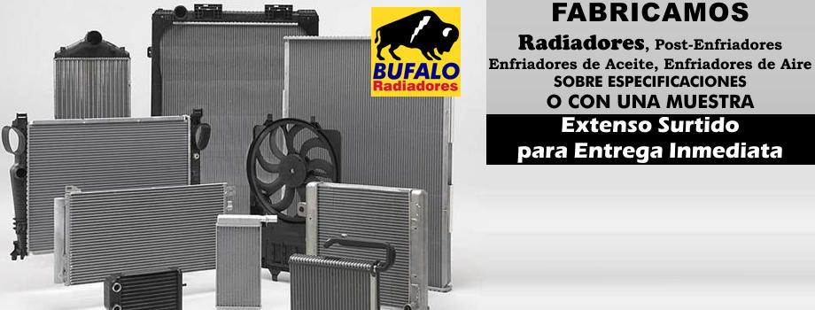 Bufalo tractopartes fabricante de radiadores y for Fabricacion radiadores