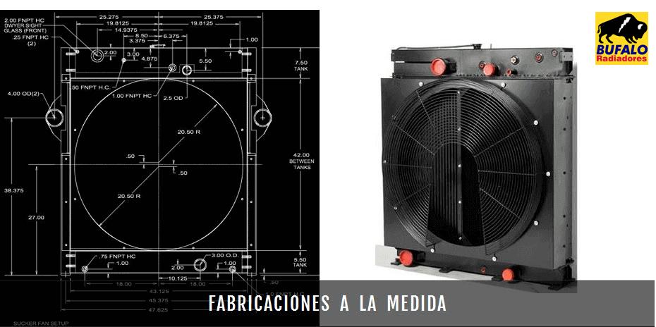 Bufalo Radiadores - Fabricacion de Radiadores Solicitados a la Medida