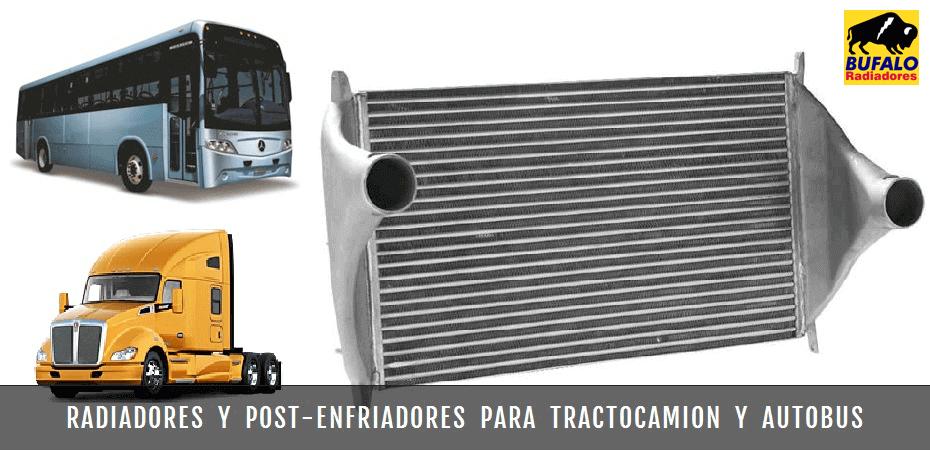 Bufalo Radiadores - Radiadores y Post Enfriadores para Tractocamion y Autobus de Pasajeros